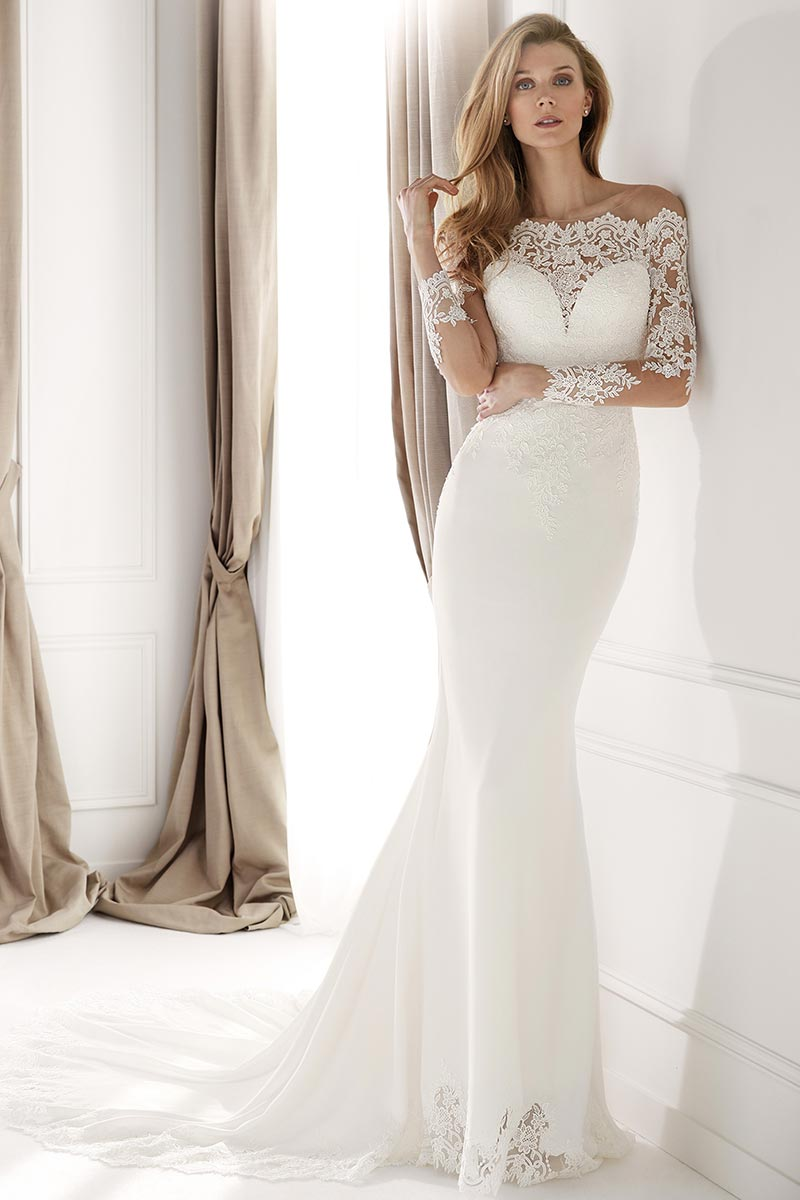 Vestido Novia Nicole spose modelo NIA20491 b