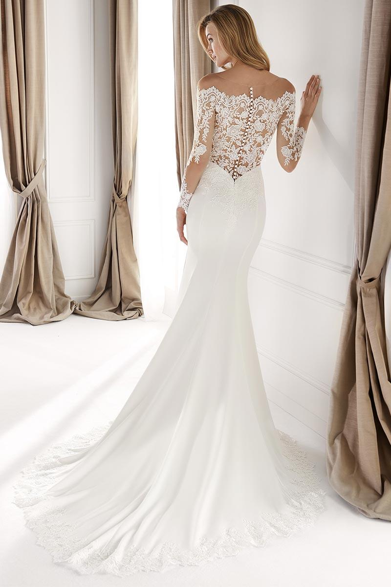 Vestido Novia Nicole spose modelo NIA20491 c