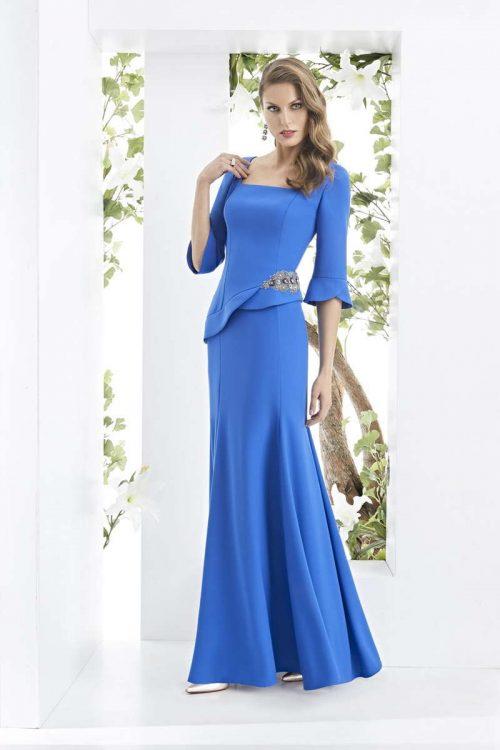 Vestido de Madrina Fiesta Esthefan Modelo LICEOS