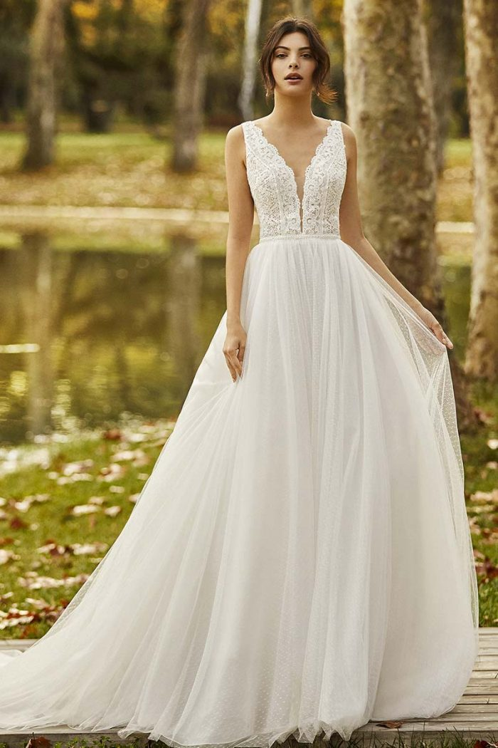 Vestido novia alma novias modelo ongile