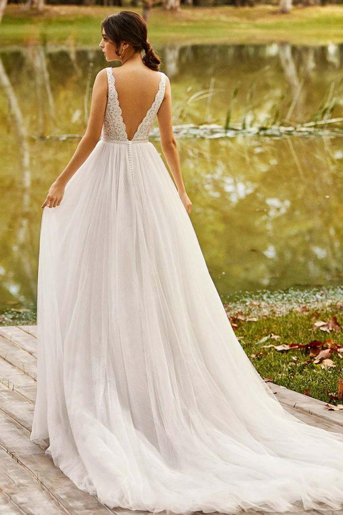 Vestido novia alma novias modelo ongile b