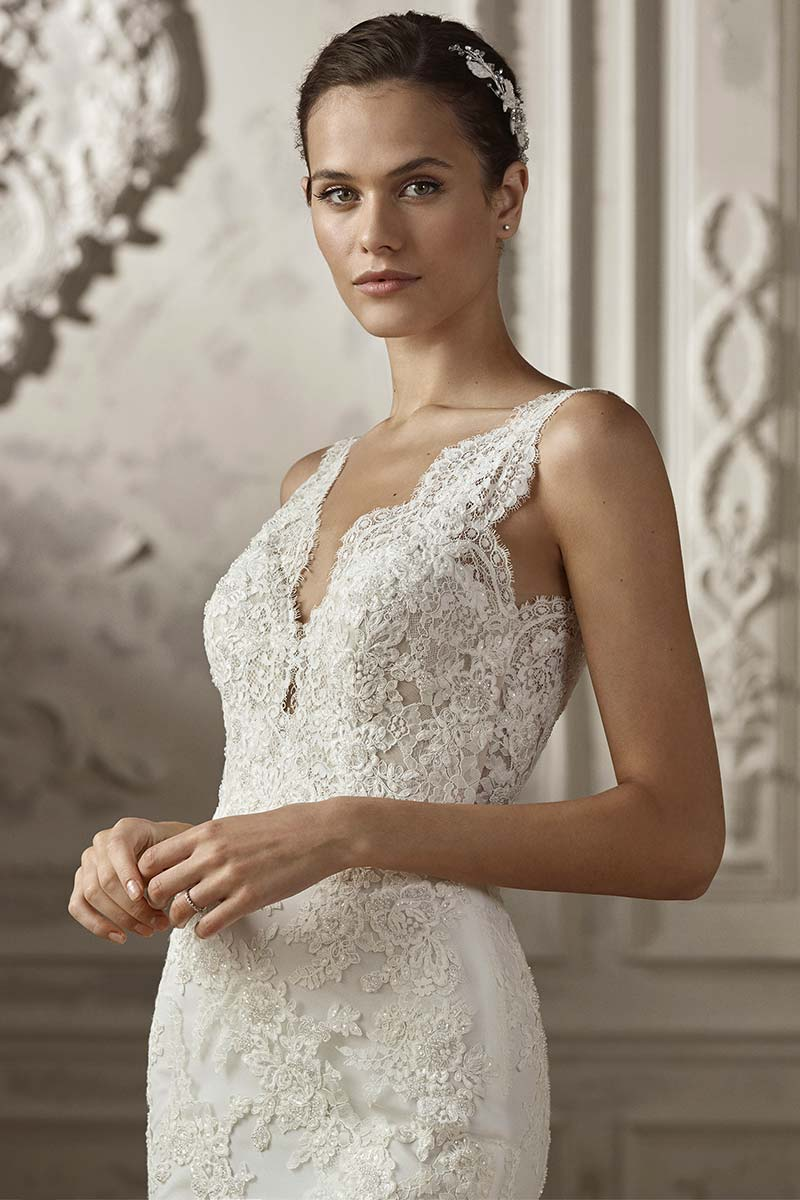 Vestido novia san patrick modelo anade c