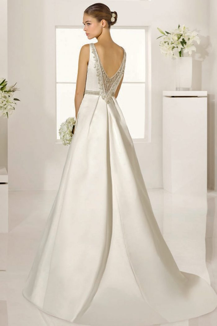 vestido novia alma novias modelo gabela
