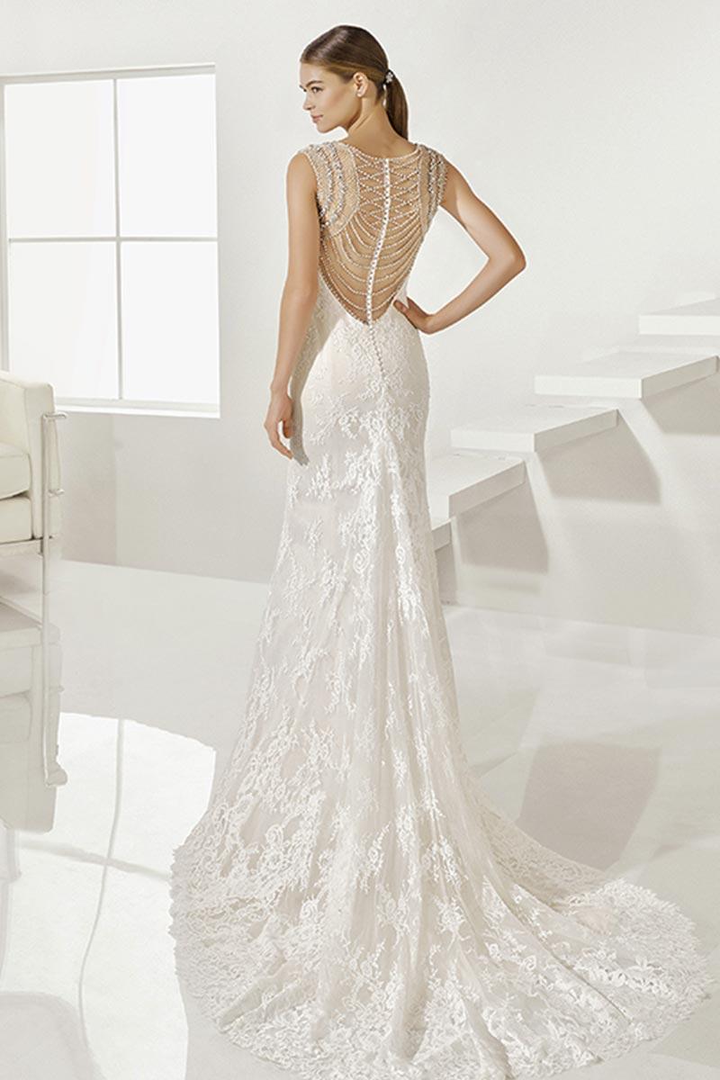 vestido novia alma novias modelo gilbert c