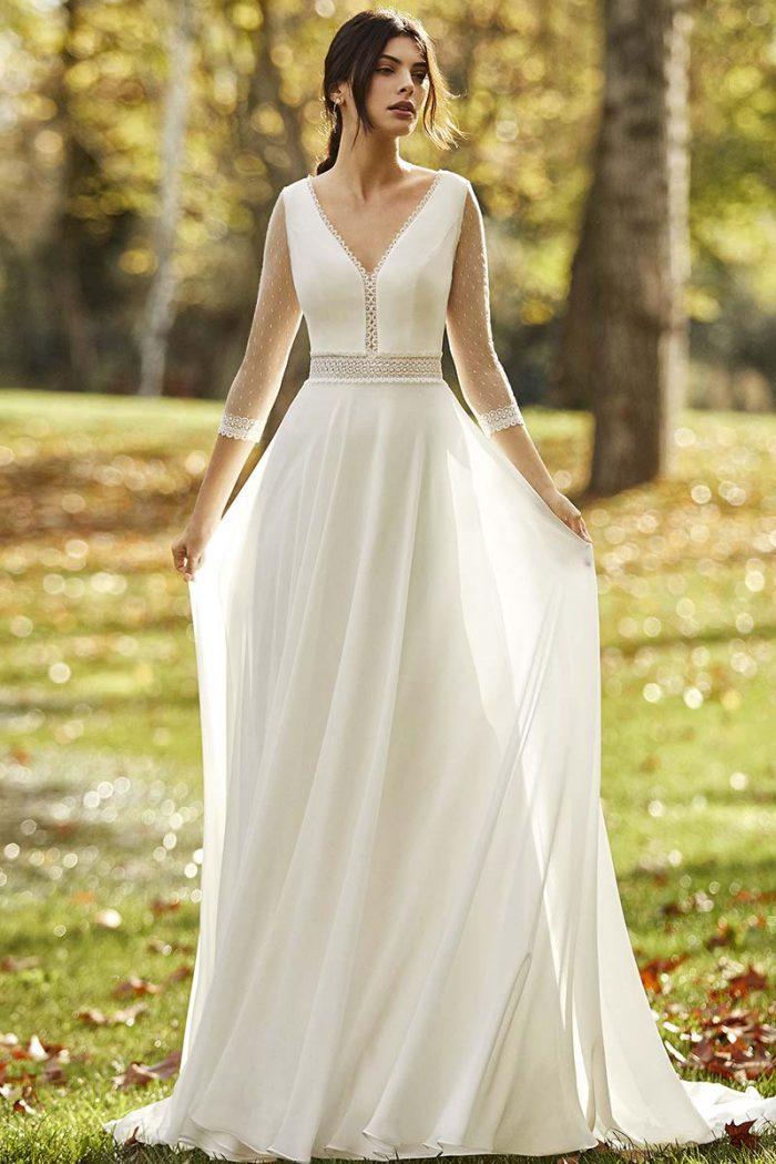 vestido novia alma novias modelo obra