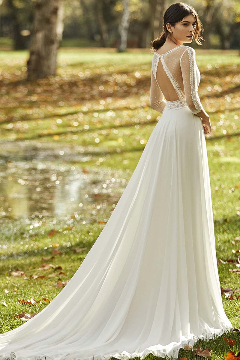 vestido novia alma novias modelo obra b