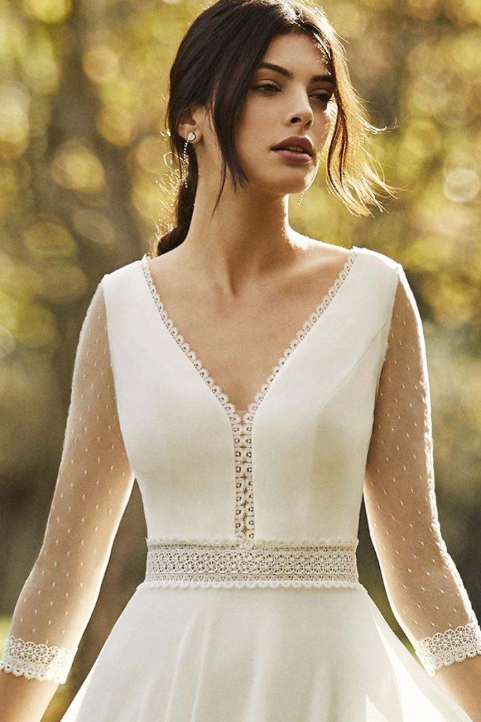 vestido novia alma novias modelo obra c