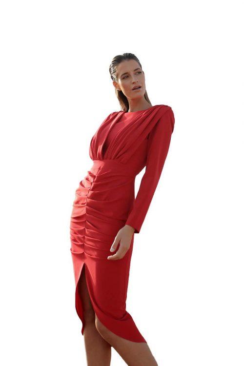 Vestido Fiesta Blanca Martin vestidomia5