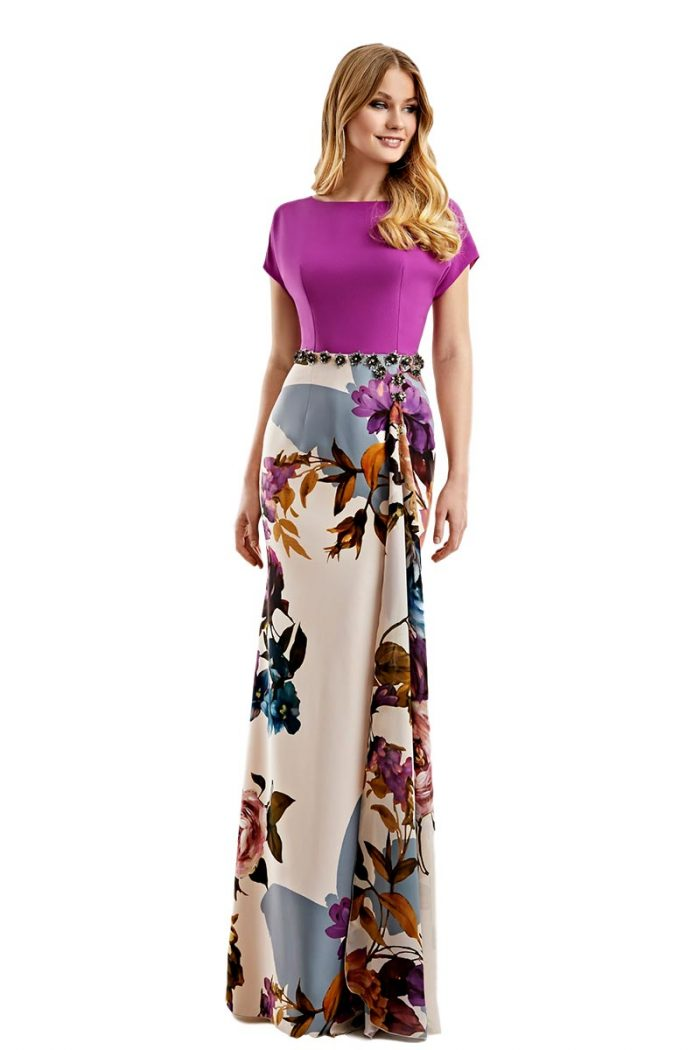 Vestido Madrina Esthefan Modelo NOMINAL