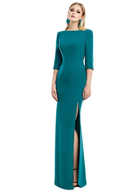 Vestido Madrina Fiesta Esthefan Modelo Nuevo 1