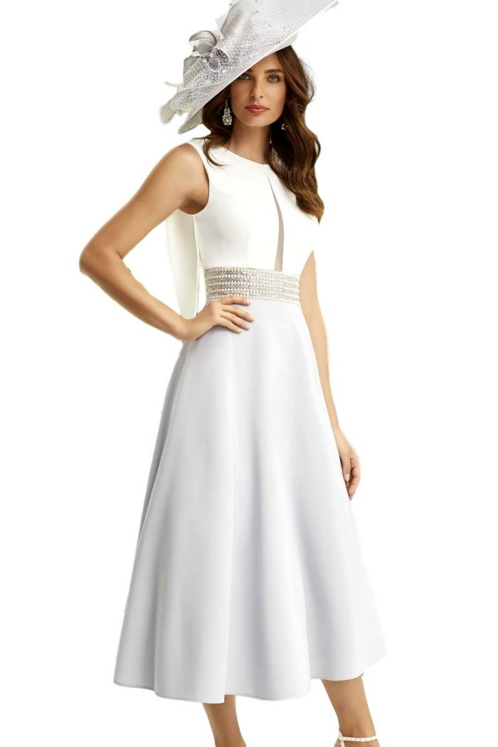 Vestido Madrina Fiesta Ronald Joyce Modelo 29460