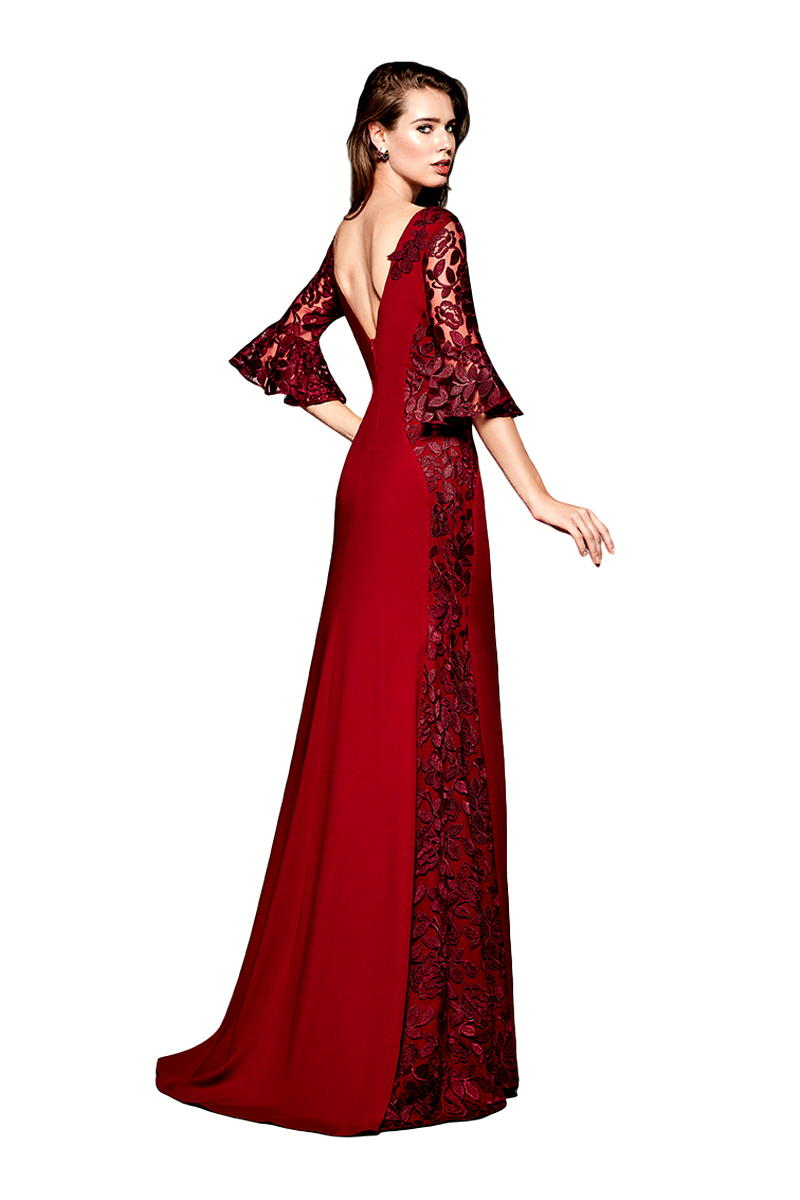 Vestido de Madrina Fiesta Manila Modelo PERSA 2