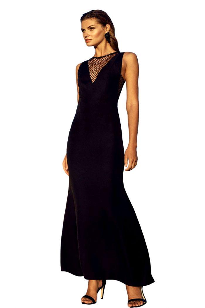 Vestido de coctel fiesta carla ruiz modelo 95748
