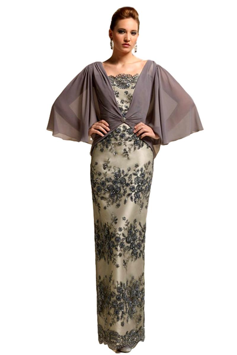 Vestido de madrina esthefan modelo bolillo 175
