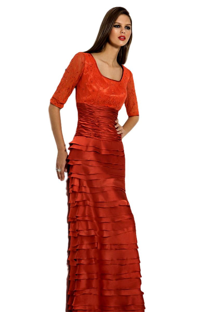 Vestido largo de fiesta madrina cabotine modelo 5005722