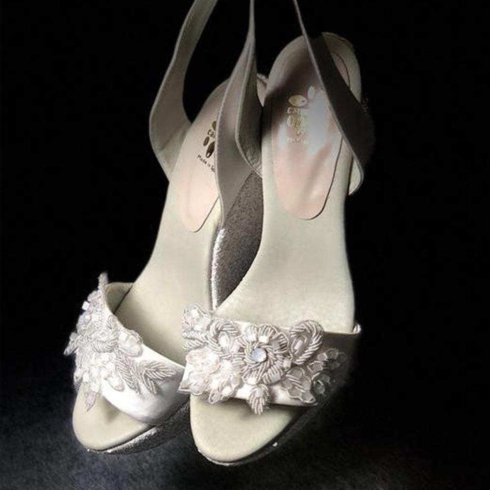 Alpargatas esparteñas novia modelo 194 c