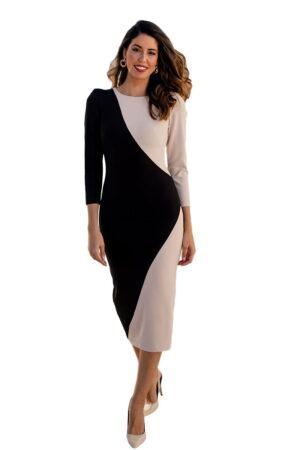 Vestido de fiesta blanca martin modelo vestidojulia1