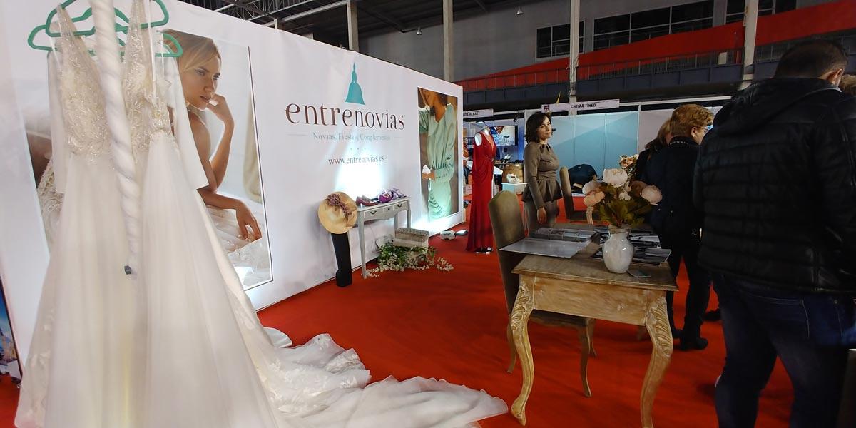 Desfile novia entrenovias tomelloso nupcial 2020