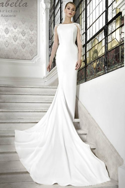 Vestido Novia Esthefan modelo Azucena