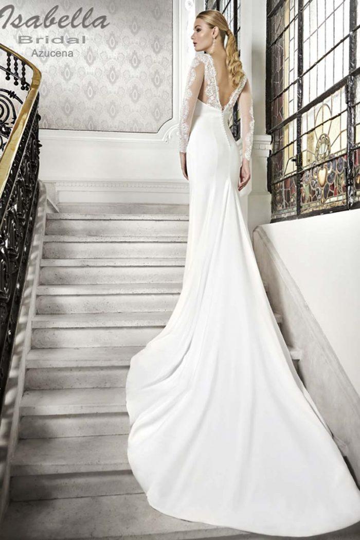 Vestido Novia Esthefan modelo Azucena b