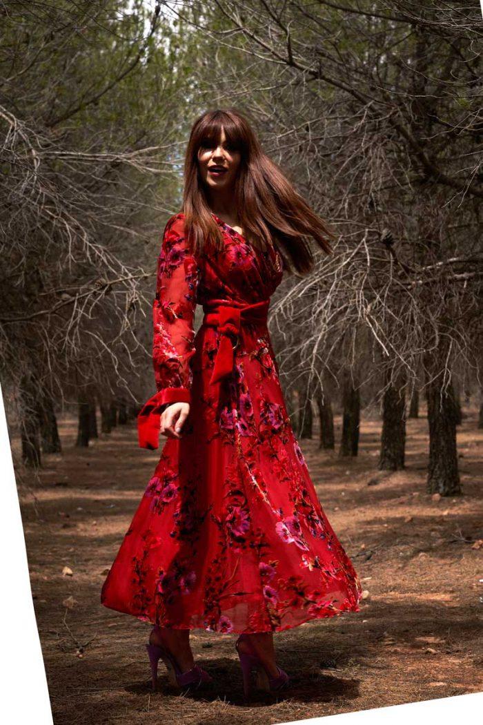 Vestido de Fiesta Entrenovias ICH07509 R