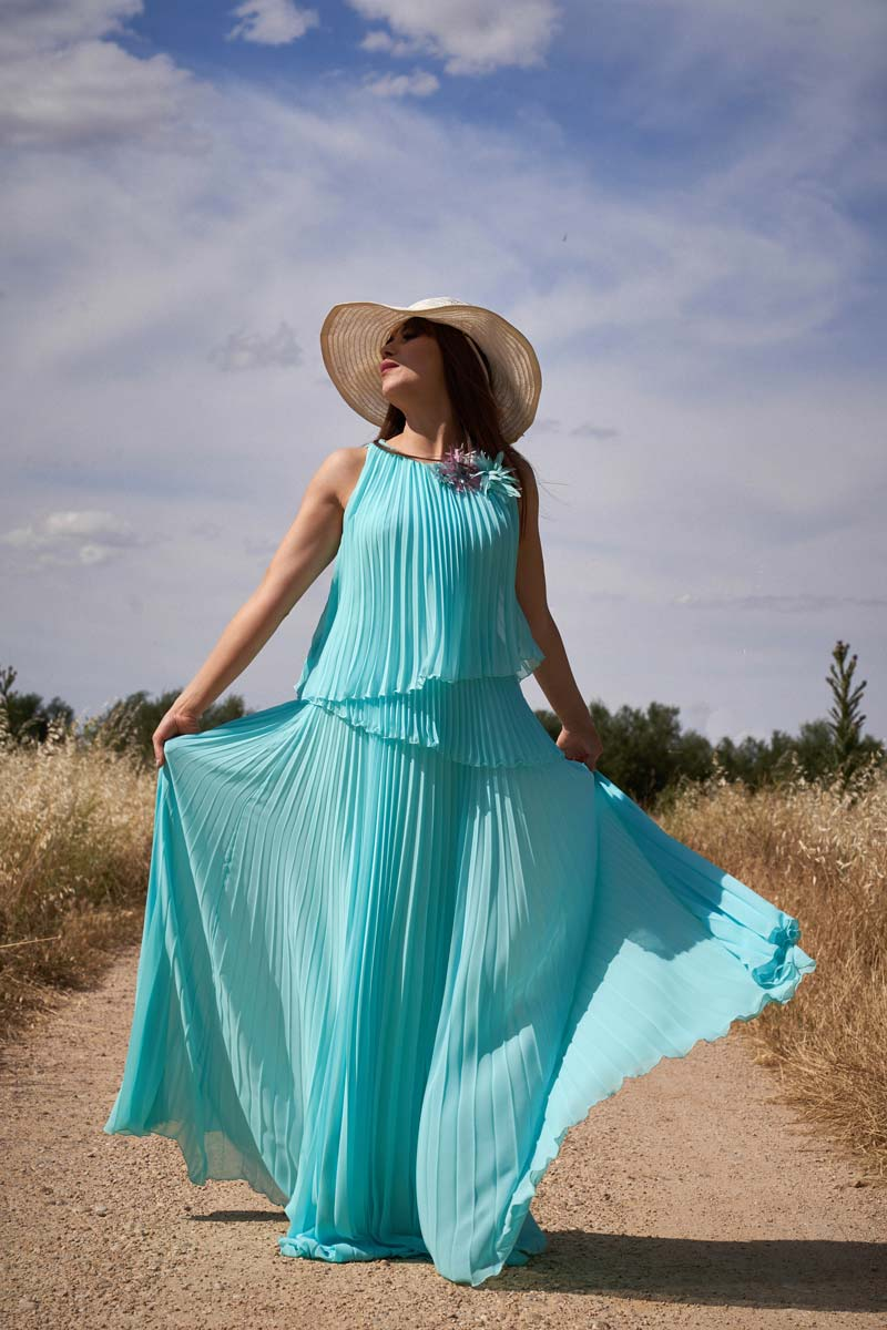 Vestido de Fiesta Entrenovias ICH09376 R