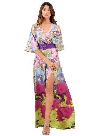 Vestido Floral moncho heredia modelo 5098.22