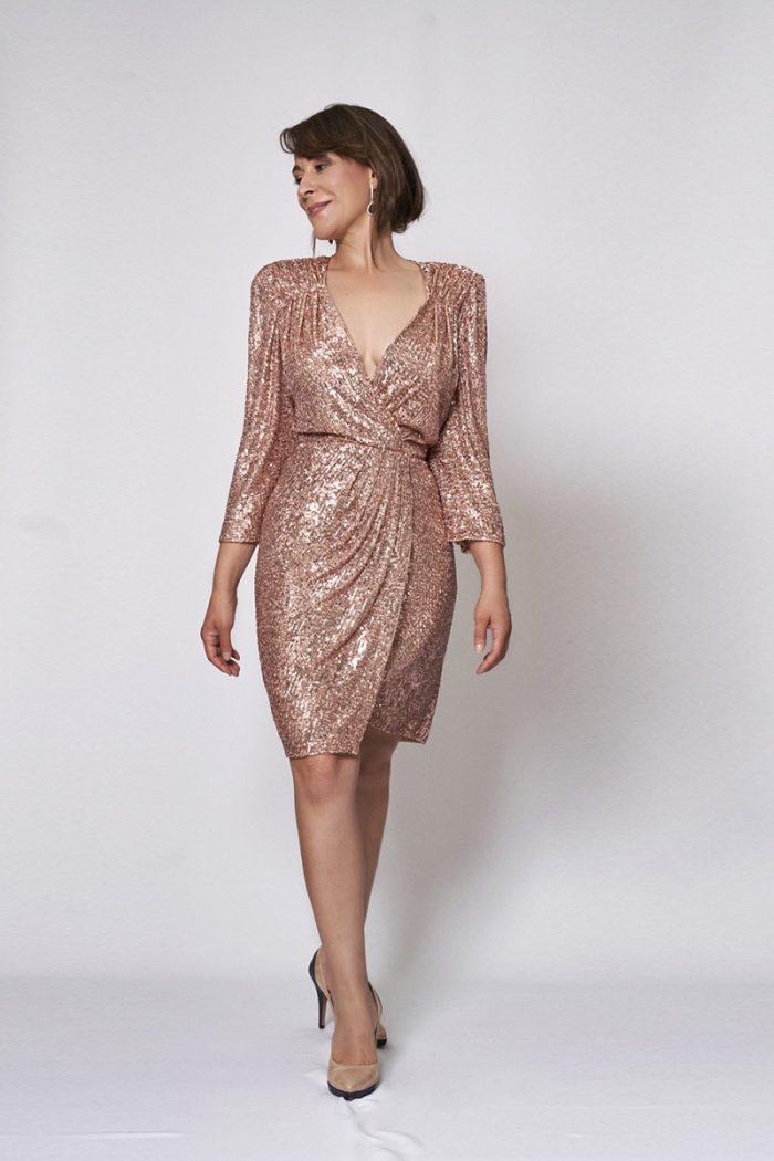 Vestido de fiesta modelo ICH02342 P