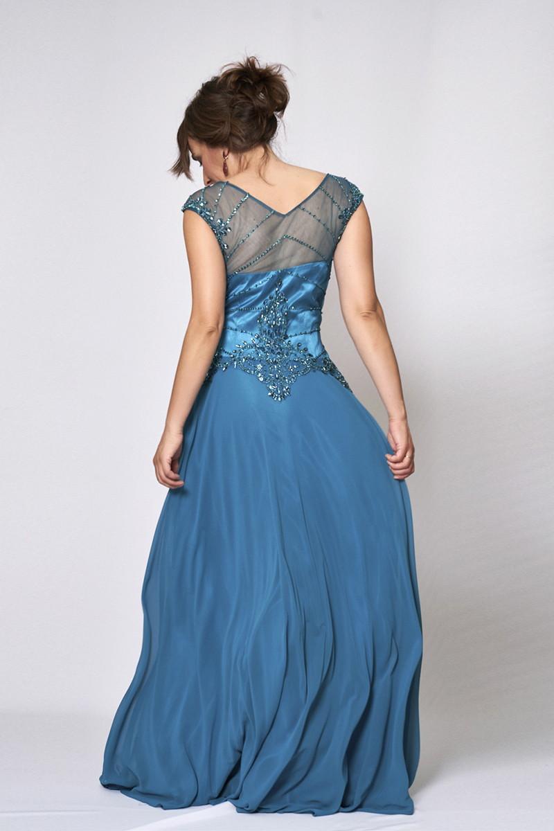 Vestido de fiesta modelo ICH03301 P