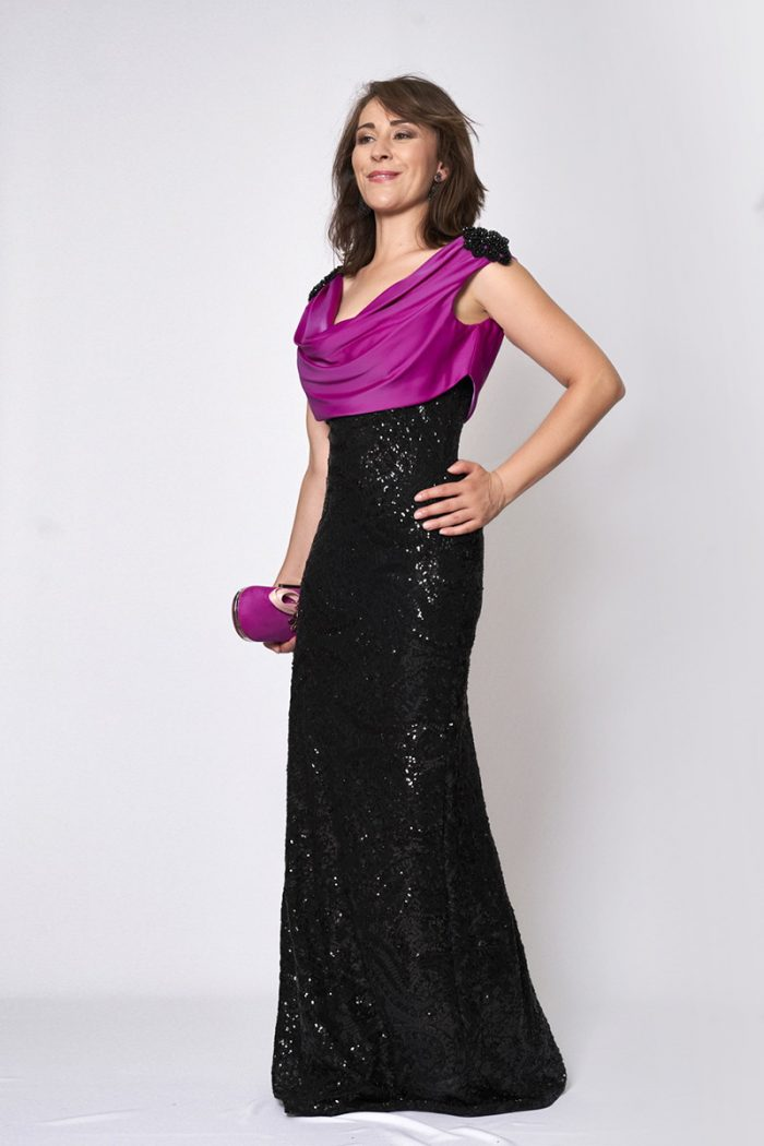 Vestido de fiesta modelo ICH03571 P